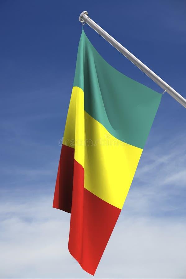 flagga mali arkivbild