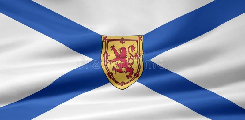 flagga Nova Scotia vektor illustrationer