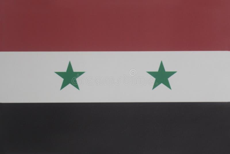flagga syria royaltyfri foto