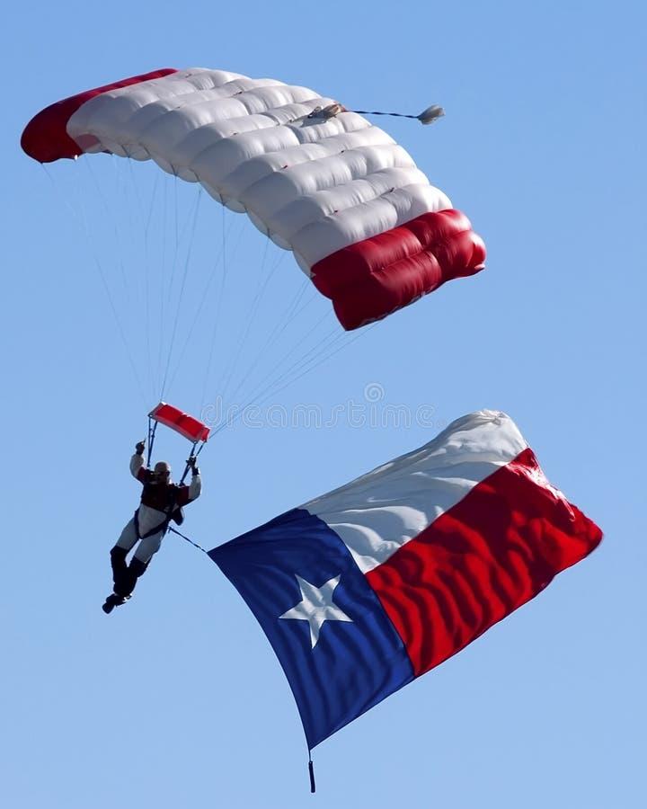 flagga texas arkivfoton