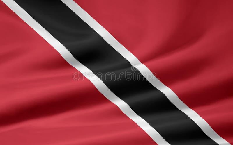 flagga tobago trinidad stock illustrationer