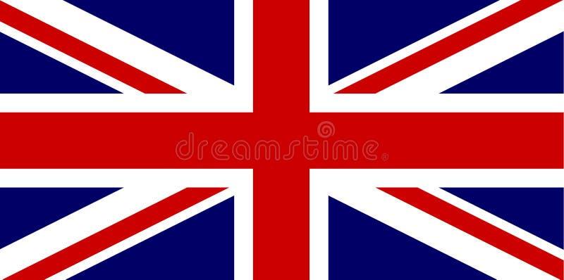 flagga uk vektor illustrationer