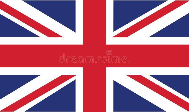 flagga uk stock illustrationer