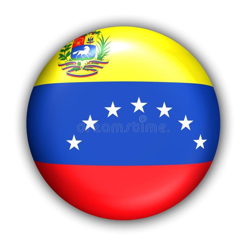 flagga venezuela stock illustrationer
