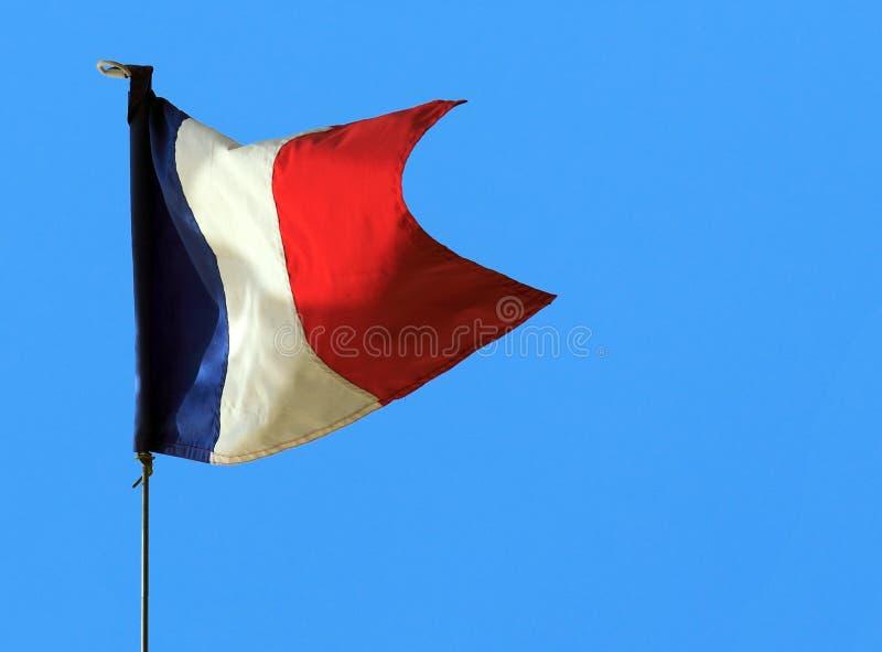flaggafransman arkivfoton