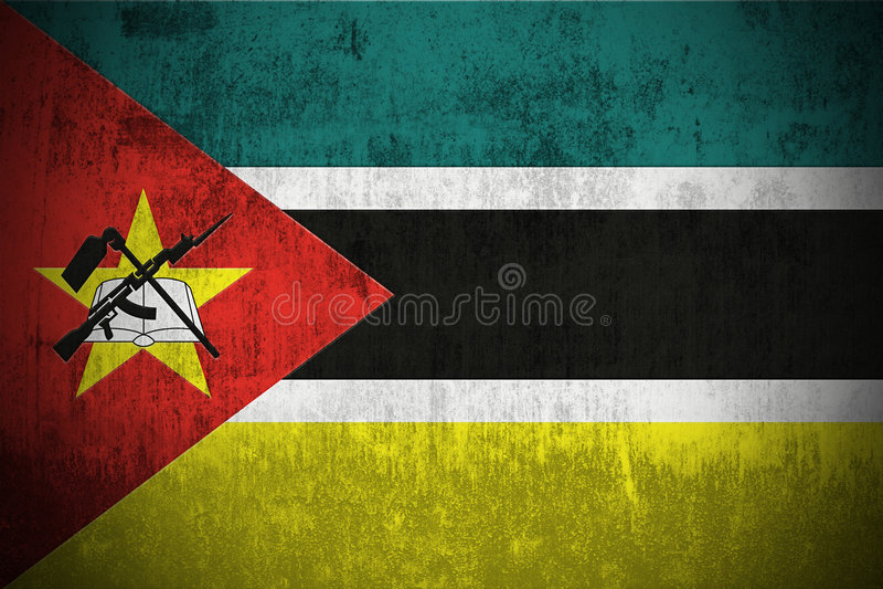 Flaggagrunge mozambique
