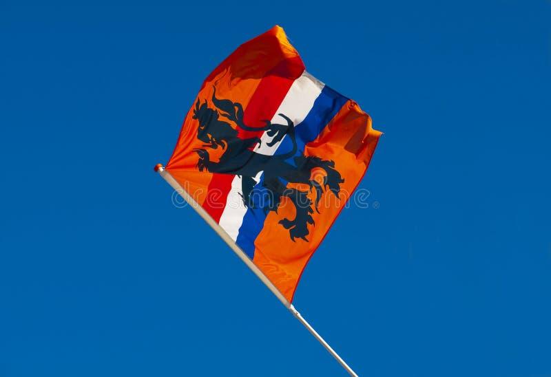 flaggaholland orange arkivbilder