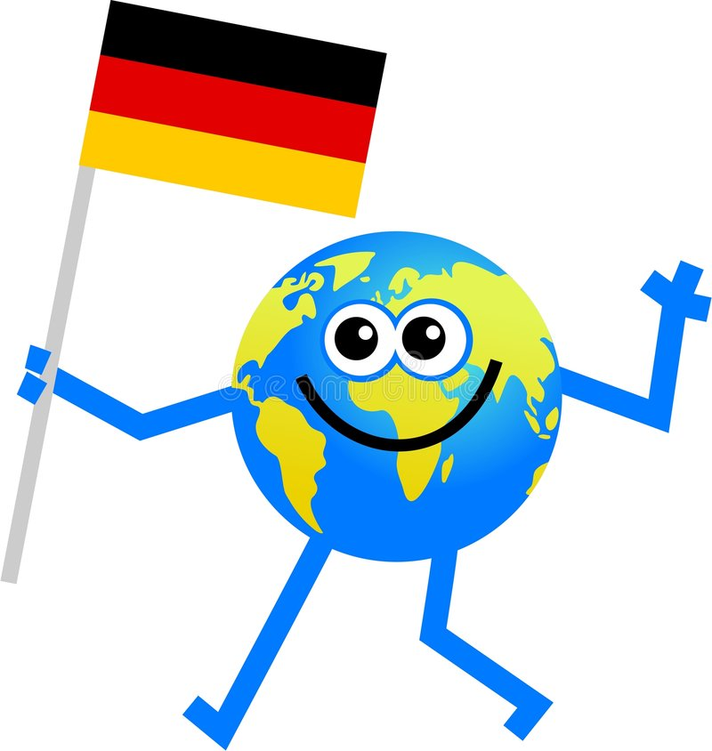 flaggajordklot stock illustrationer
