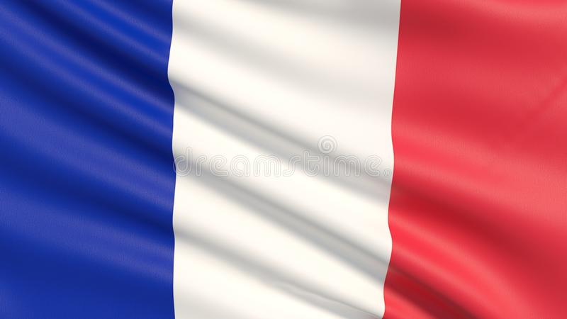 Flaggan av Frankrike, Tricolour franska arkivfoto