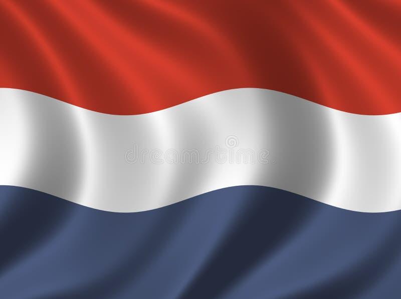 Download FlaggaNederländerna stock illustrationer. Illustration av land - 287034