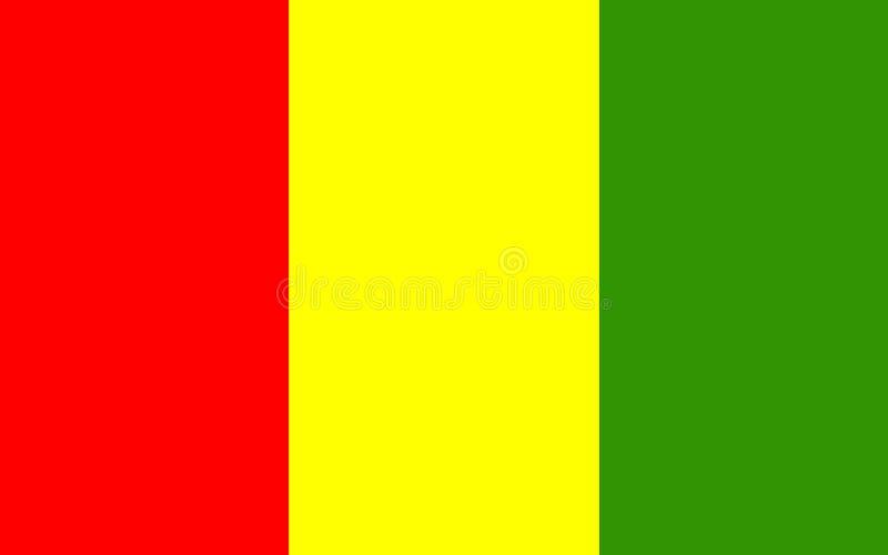 Flagge der Grafschaft Carlow ist eine Grafschaft in Irland vektor abbildung
