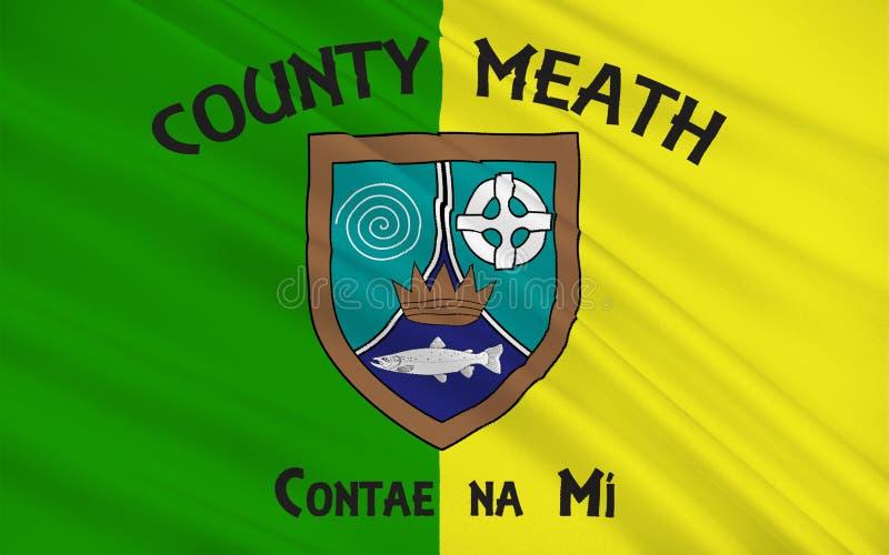 Flagge der Grafschaft Meath ist eine Grafschaft in Irland vektor abbildung