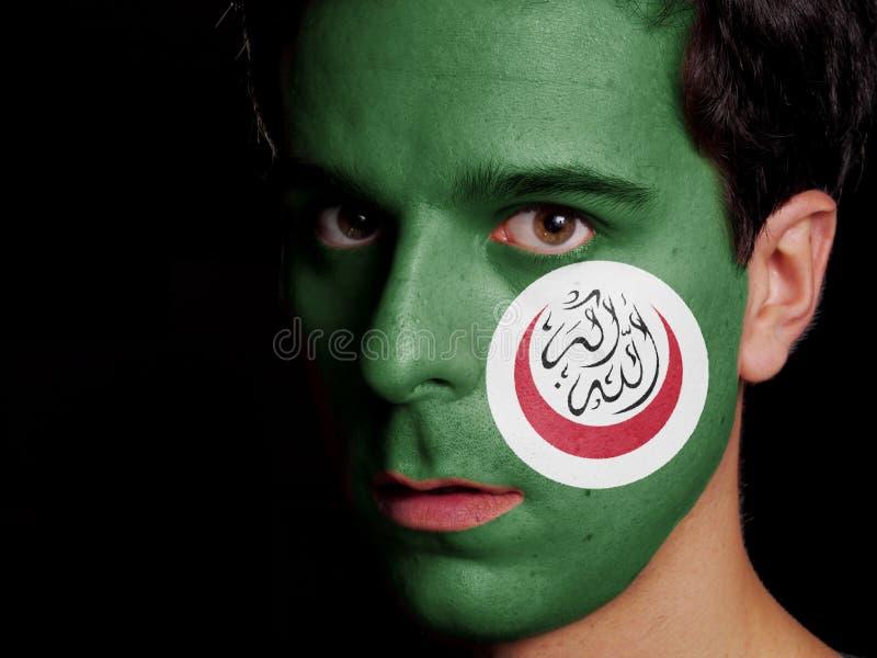 Flagge der Organisation der islamischen Zusammenarbeit lizenzfreies stockbild