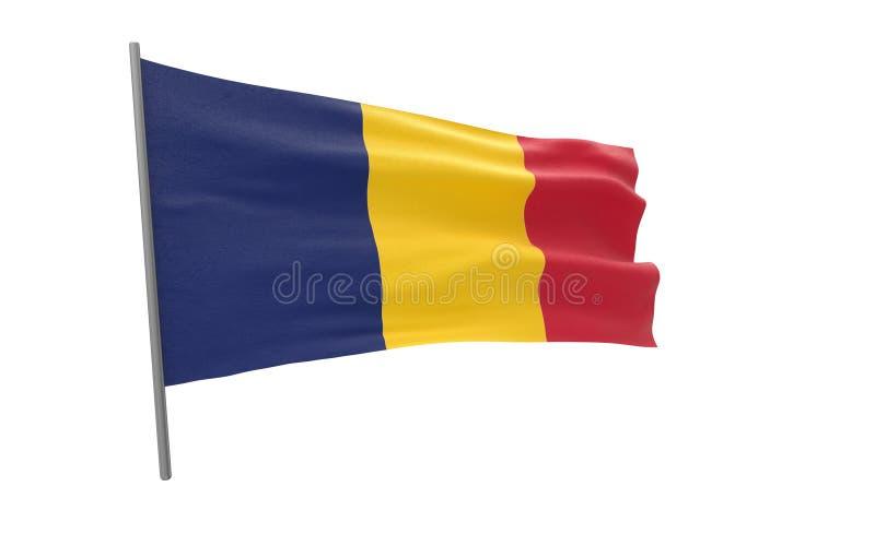 Flagge des Konfettis vektor abbildung