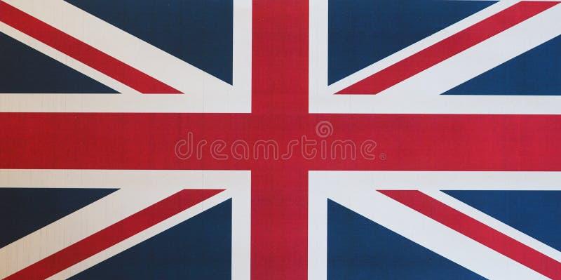 Flagge des Vereinigten Königreichs (Großbritannien) alias Union Jack lizenzfreies stockbild
