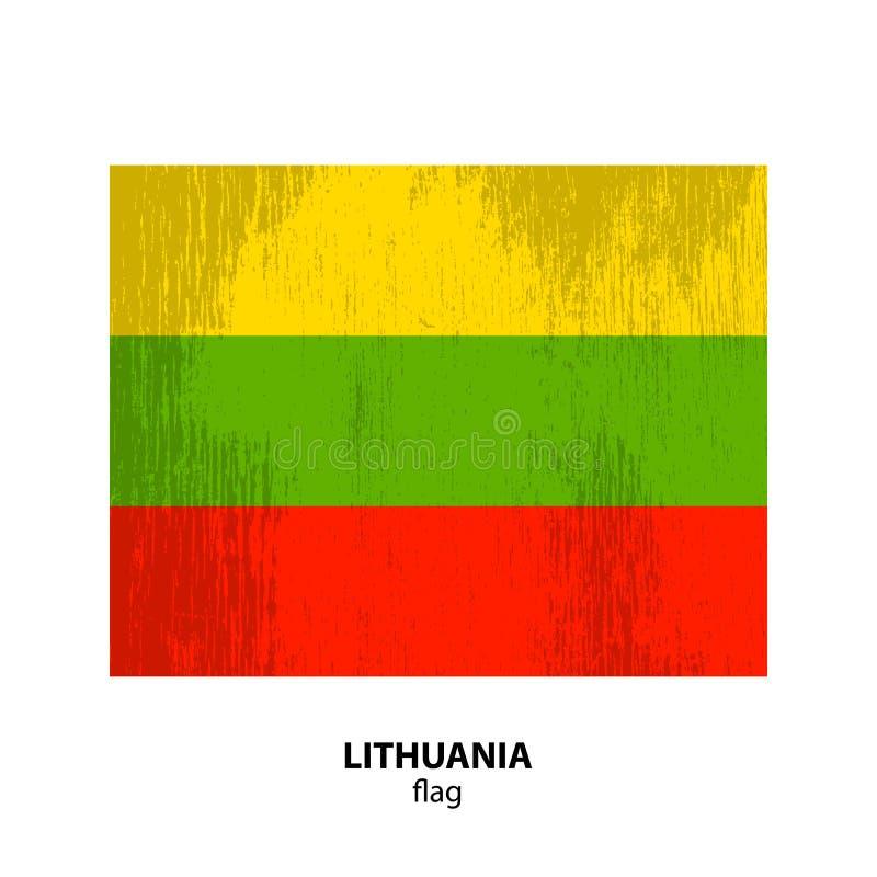 Flagge grunge-21 lizenzfreie abbildung