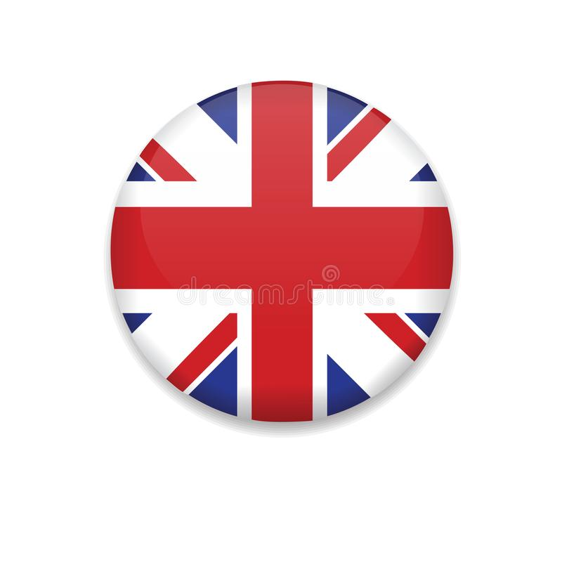 Flagge Vereinigten Königreichs vektor abbildung