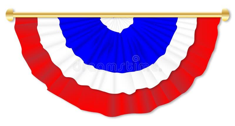 Flagge Vereinigten Königreichs stock abbildung