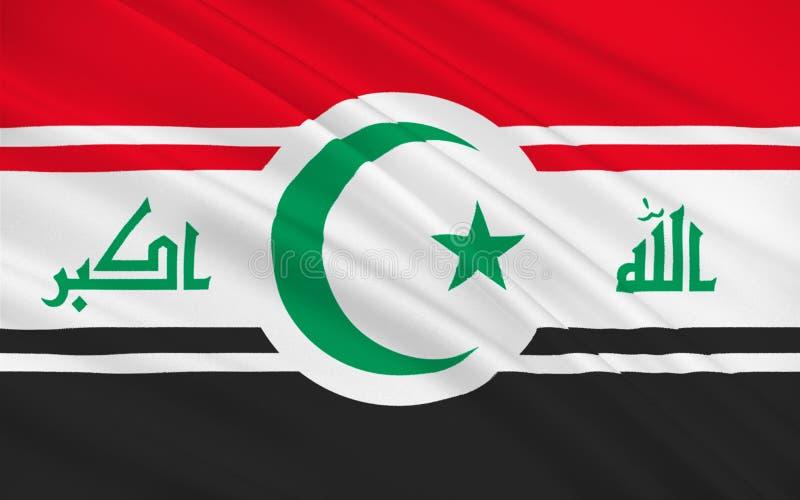 Flagge vom Irak vektor abbildung