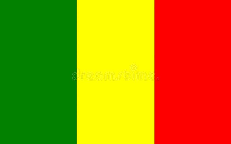 Flagge von Chateauroux, Frankreich stockbild