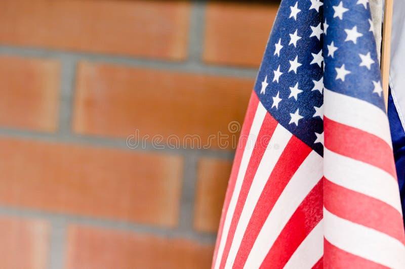 Flagge von den Vereinigten Staaten von Amerika, Amerika Flagge lizenzfreie stockfotos