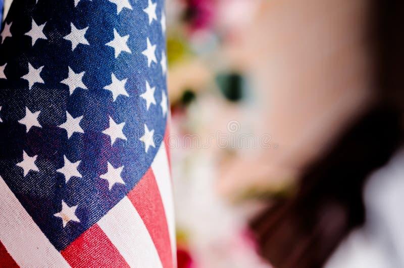 Flagge von den Vereinigten Staaten von Amerika, Amerika Flagge lizenzfreie stockfotografie