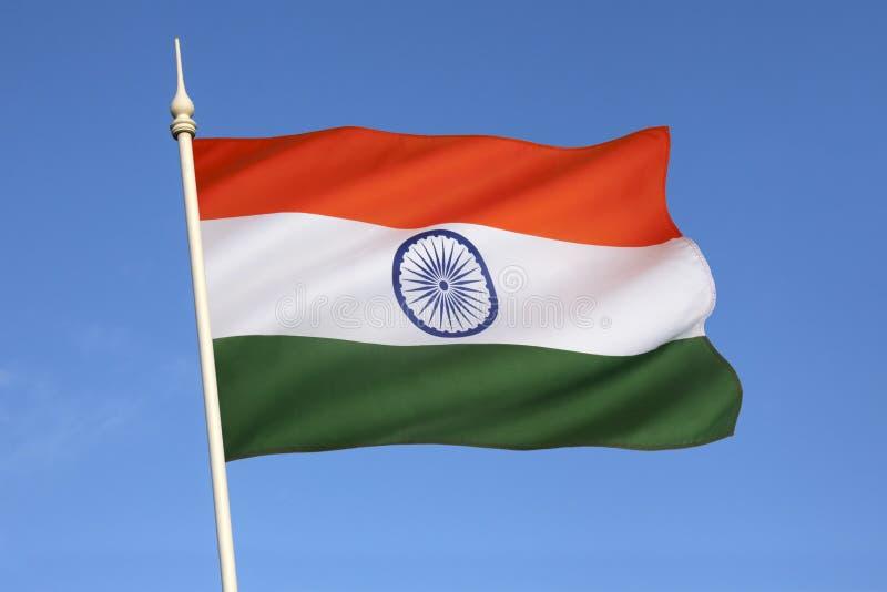 Flagge von Indien lizenzfreies stockfoto