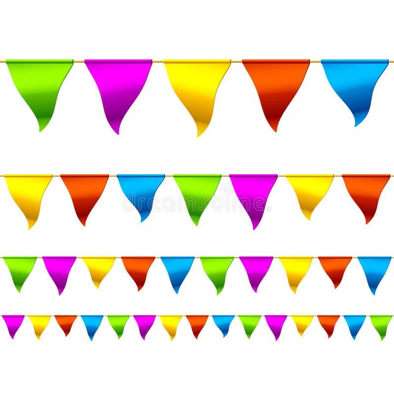 Flaggemarkierungsfahnen