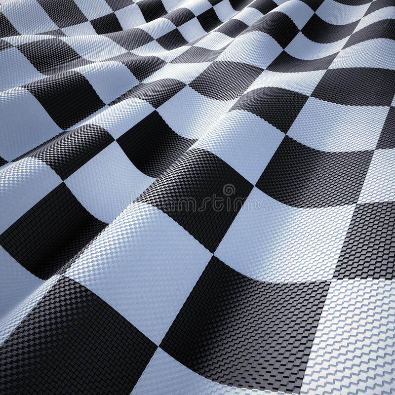 Flaggen-Laufen Lizenzfreie Stockfotografie