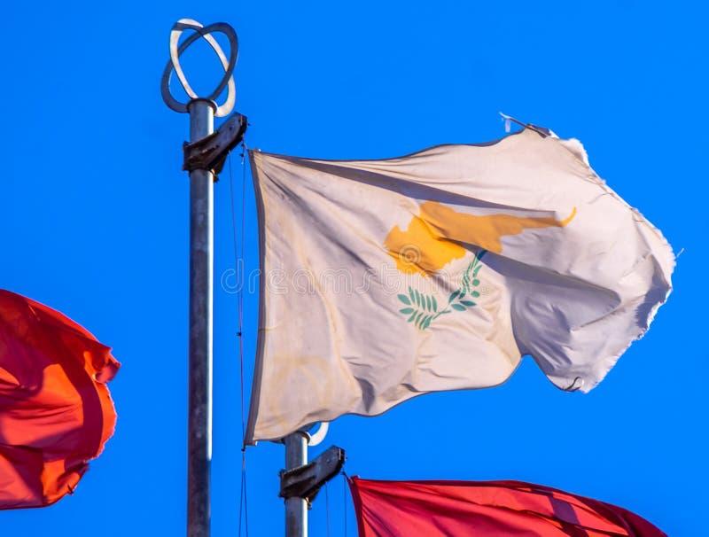 Flaggor av europeiska länder royaltyfri fotografi
