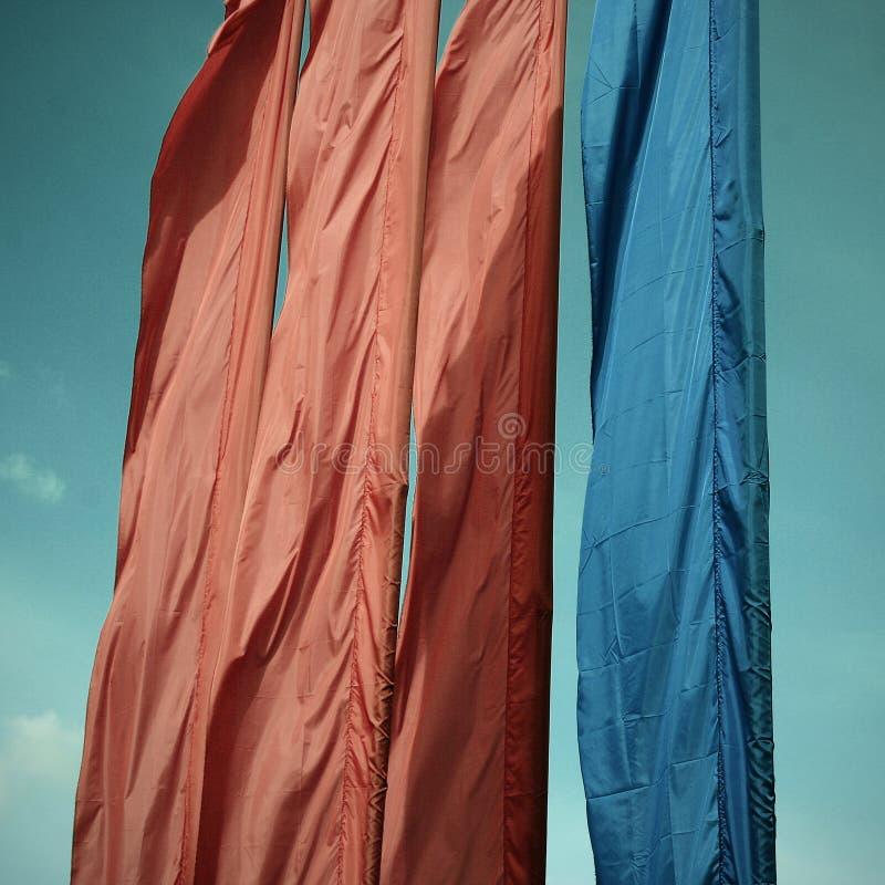 flaggor fyra fotografering för bildbyråer