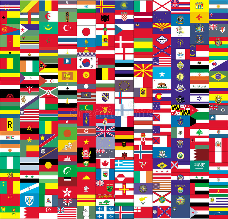 flagi ilustracji