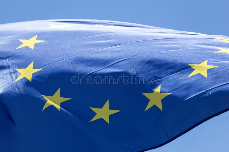 flagi europejskiej fotografia royalty free
