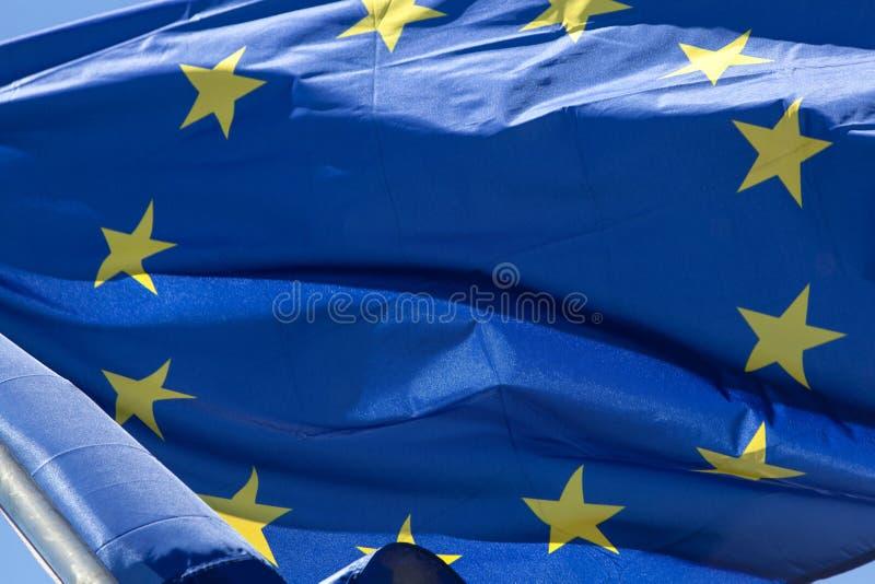 flagi europejskiej fotografia stock