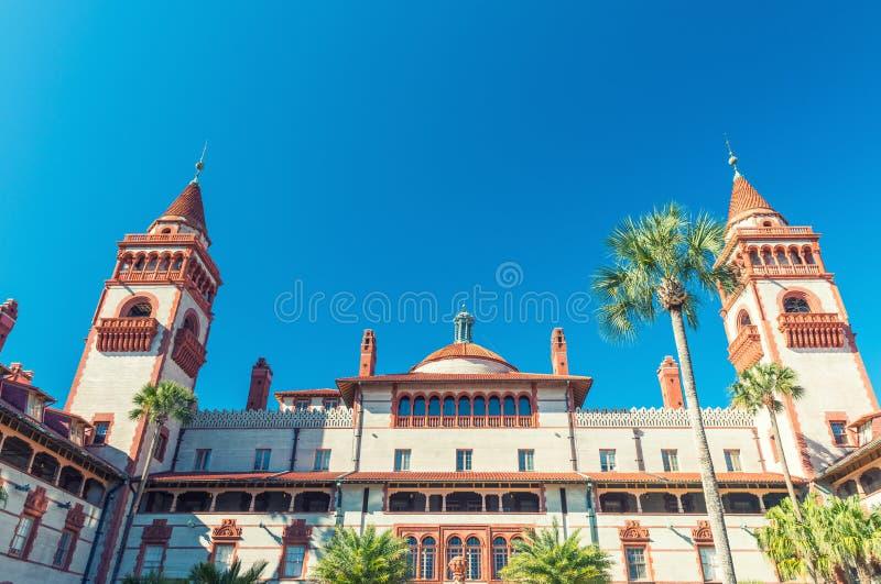 Flagler学院在圣奥斯丁,佛罗里达 库存照片