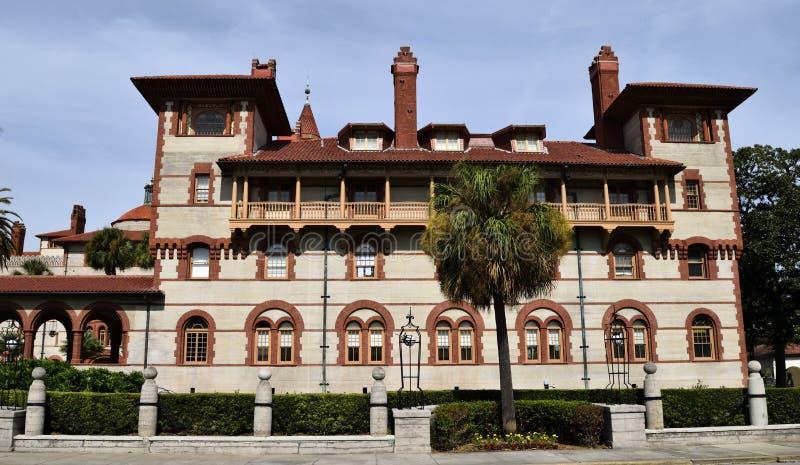Flagler学院,圣奥斯丁,佛罗里达,美国 免版税库存图片