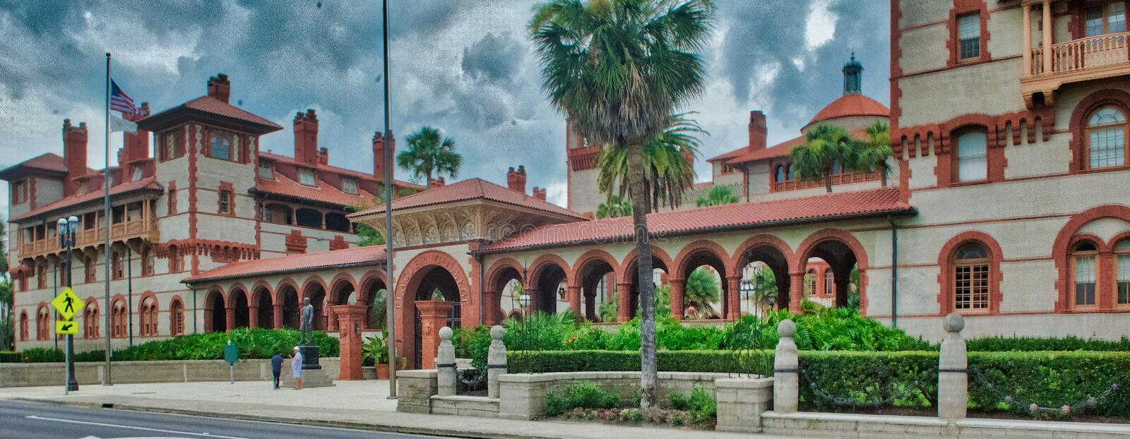 Flagler College royalty free stock image