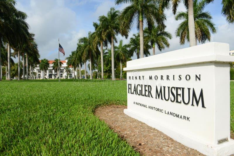 Flaglermuseum, Palm Beach, Florida royalty-vrije stock afbeeldingen
