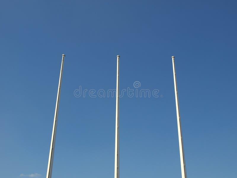 flagpole zdjęcie stock