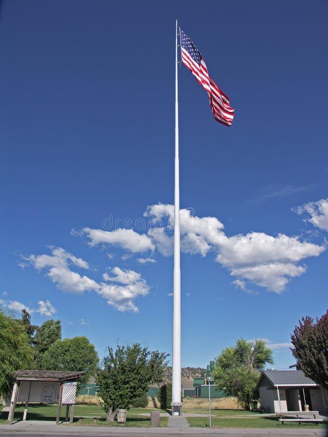 Flagpole - 2nd wysoki w USA obraz stock