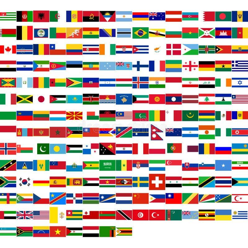 flags мир