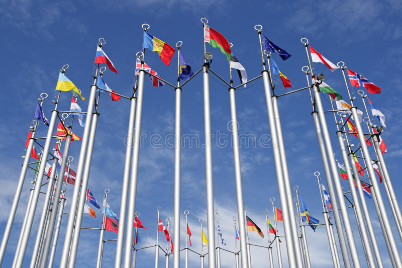 Download Flags stock image. Image of cloudscape, bright, cloud - 10901007