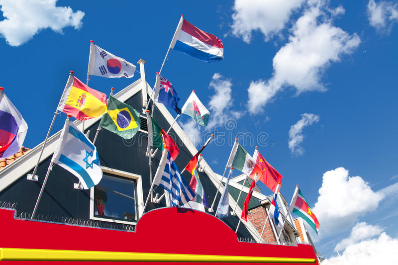 Download Flags stock image. Image of outdoors, holliday, sign - 21634821