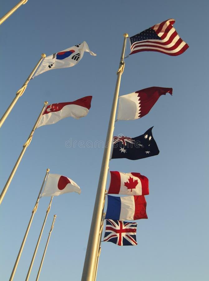 Free Flags Royalty Free Stock Photos - 2497348