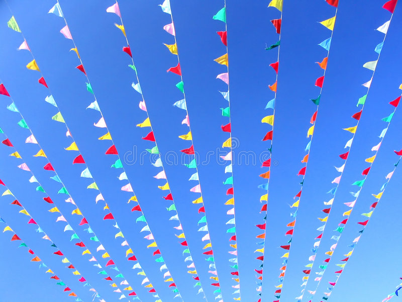 Download Flags stock photo. Image of happy, holidays, flags, bright - 81812