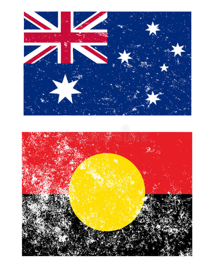 Download Flags of Australia stock vector. Image of white, black - 14585755