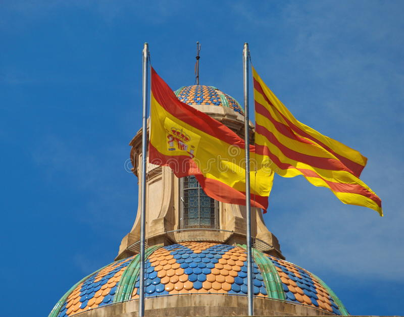 Download Flags stock image. Image of dome, architecture, spain - 33300309