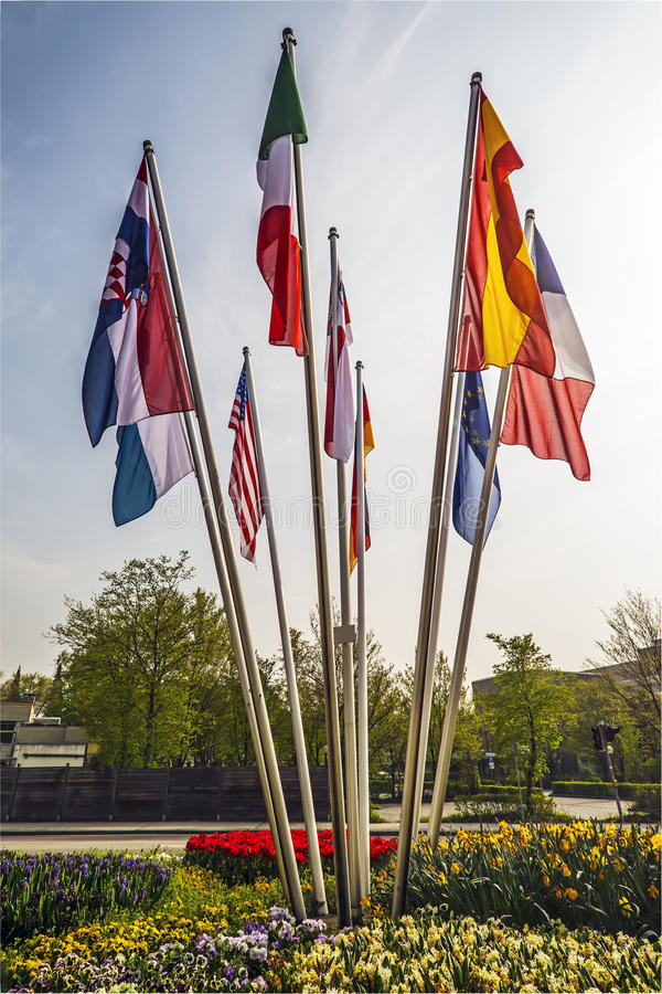 Flags Countries World Stock Image