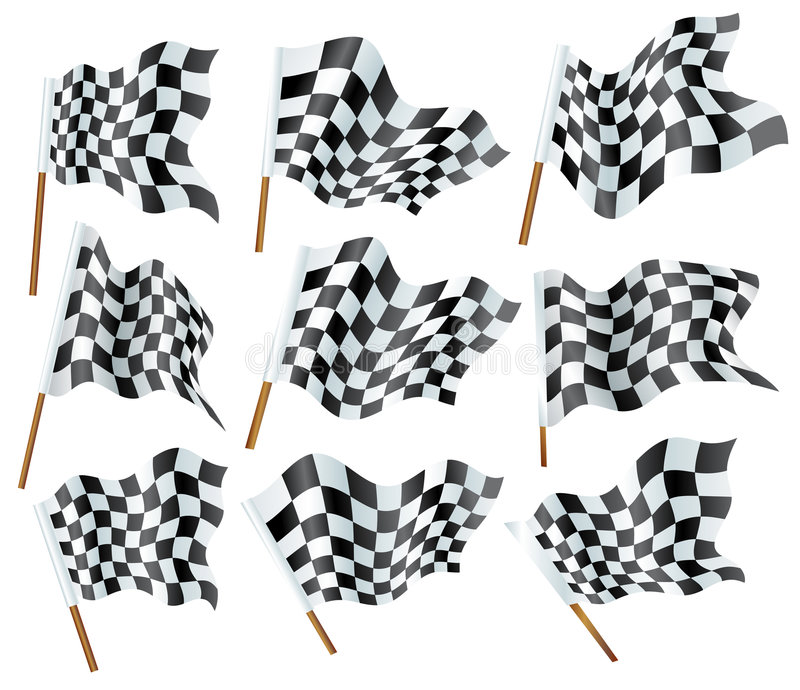 flags formel en royaltyfri illustrationer