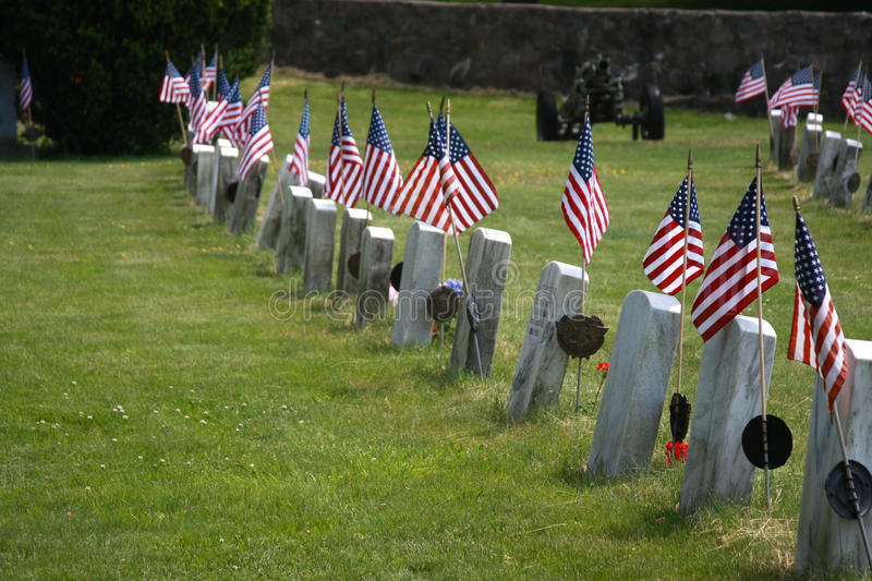 Flags Honor the Fallen